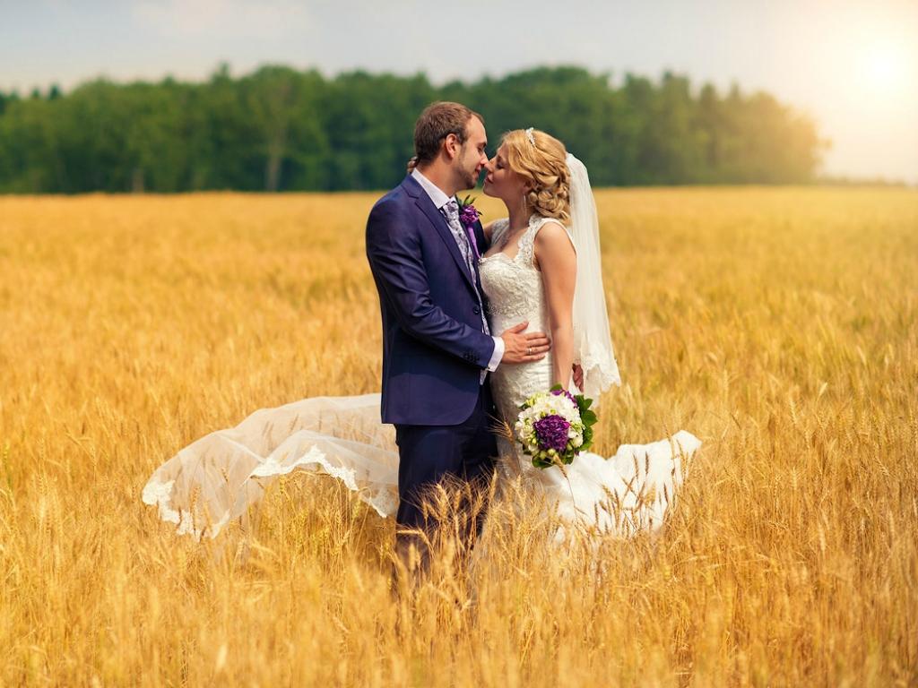 красивая свадебная фотосессия летом постоянно пополняется новинками